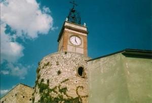 torre dell'orologio - castropignano